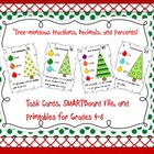 Fraction, Decimal, and Percent Task Cards and SMARTBoard File
