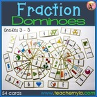 Fraction Dominoes in colour- Fractominoes! Pdf