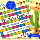 Fraction Fiesta Game {Grades 7 &amp; 8}  Common Core Aligned