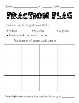 Fraction Flag