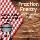Fraction Frenzy- What&#039;s On Your Plate? {Common Core Aligned}