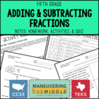 Fraction Frenzy {adding &amp; subtracting fractions and mixed 