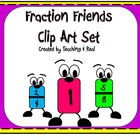 Fraction Friends Clipart/Graphics