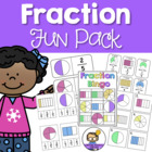 Fraction Fun Pack - Games & Activities (Fractions of a who