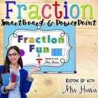 Fraction Fun PowerPoint and SmartBoard Notebook