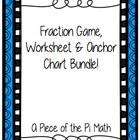 Fraction Game and Fraction Lesson Pack!