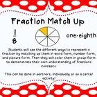 Fraction Match Up Activity