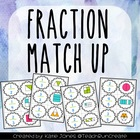 Fraction Match Up {Freebie!}