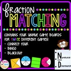 Fraction Matching - Connect Four!