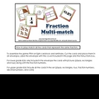 Fraction Multi-match