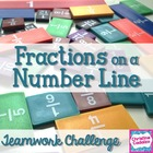 Fraction Number Line Challenge