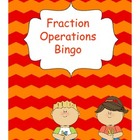 Fraction Operations Bingo