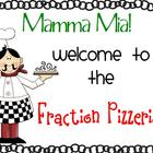 Fraction Pizzeria Activity (differentiated)