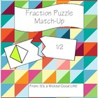 Fraction Puzzle Match-Up