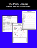 Fraction, Ratio and Percents Project