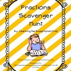 Fraction Scavenger Hunt Packet