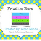 Fraction Strips Flip Book- Student Math Tool