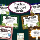 Fraction Task Card Bundle ~ 6 sets included