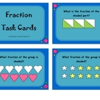 Fraction Task Cards: 3rd Grade Common Core