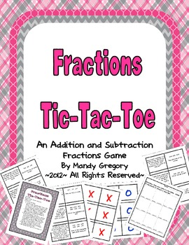 Fraction Tic-Tac-Toe