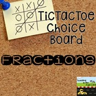 Fraction TicTacToe Extension Activities