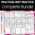 Fraction Unit - All 14 Worksheets