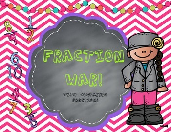 Fraction War-With Comparing Fractions