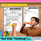 Fraction Worksheet Activity - Pizza Challenge
