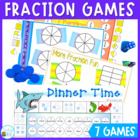 Fraction games - 7 games to help consolidate fractions