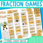 Fraction games - a set of 3 games