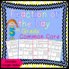 Fraction of the Day 5th Grade Common Core
