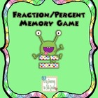 Fraction/Percent Memory Game