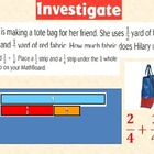 Fractions 1: Addition with Unlike Denominators for Visual