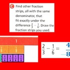 Fractions 2: Subtraction With Unlike Denominators for Visu