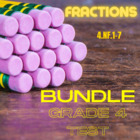 Fractions Assessment Packet - Grade 4 (4.NF.1-7)