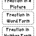 Fractions &quot;Cut Out&quot; Anchor Chart