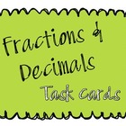 Fractions & Decimals Task Cards