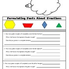 Fractions Decomposition - Fourth Grade Common Core