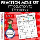 Fractions Everywhere Worksheet - Introduction to Fractions