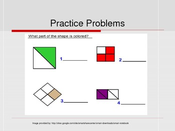 Fractions Intro PowerPoint
