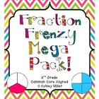 Fractions Mega Pack for CCSS 3.NF.1 - 3.NF.3