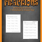 Fractions Multiply Mixed Number Common Core 15 problems w/