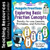 Fractions - Penguin Fractions: Exploring the Basics
