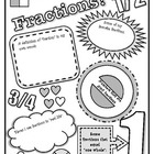 Fractions Poster!  A Fun Way To Encourage Conceptual Under