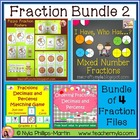 Fractions Tug of War Card Game