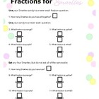 Fractions With Candy