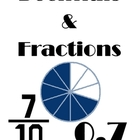 Fractions and Decimals Packet
