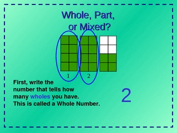 Fractions and Mixed Numbers  PowerPoint