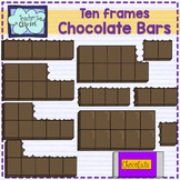 Fractions clipart: Chocolate bar