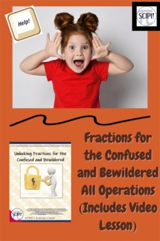 Fractions for the Confused and Bewildered (all operations)